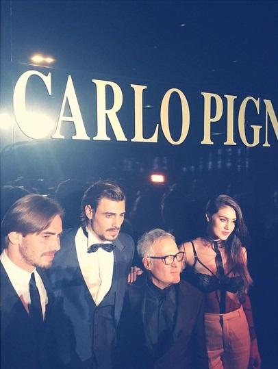 Francesco Monte, Stefano Monte, Carlo Pignatelli e Cecilia Rodriguez