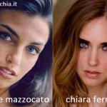 Somiglianza tra Nicole Mazzocato e Chiara Ferragni