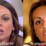 Somiglianza tra Silvia Raffaele e Francesca Pascale