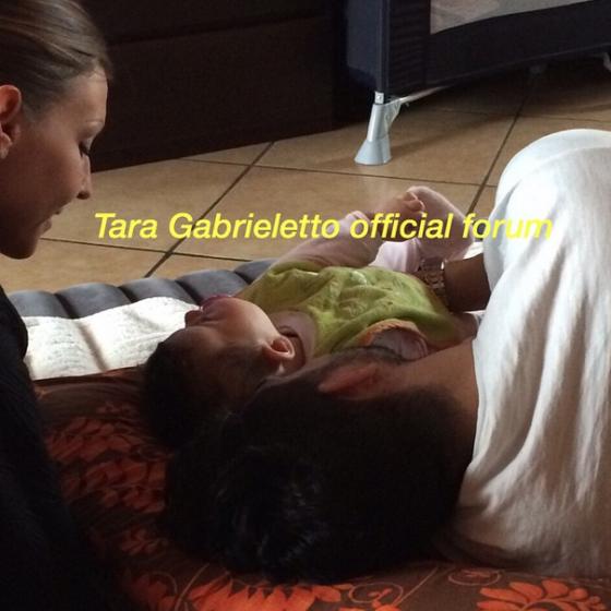 Tara Gabrieletto e Cristian Gallella