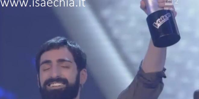 Fabio Curto vince la terza edizione di 'The Voice of Italy'