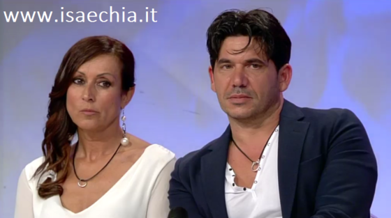 Trono over - Franco Garna e Sabrina Tacchi