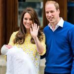 William, Kate e Charlotte Windsor