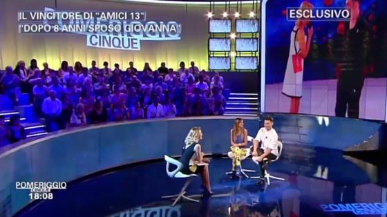 Barbara D'Urso, Giovanna D'Anna e Vincenzo Durevole