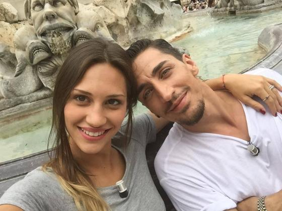 Beatrice Valli e Marcello Sacchetta