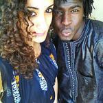 Samba Laobe Ndiaye e Nunzia Giovanniello