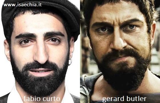 Somiglianza tra Fabio Curto e Gerard Butler in '300'