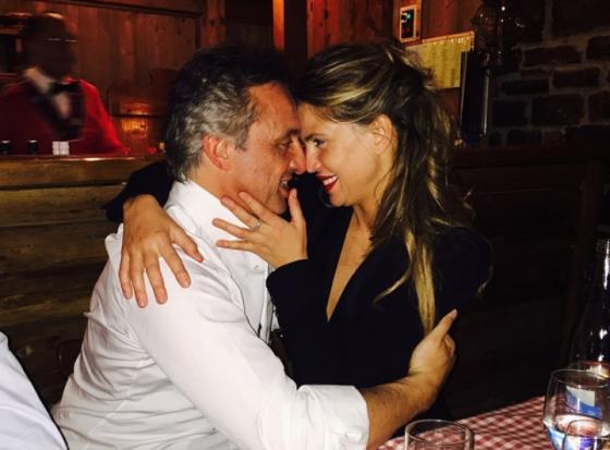 Tommaso Buti e Claudia Galanti