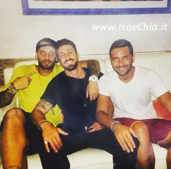 Amedeo Andreozzi, Emanuele D'Avanzo e Gianmarco Valenza