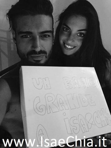 Fabio Colloricchio e Nicole Mazzocato