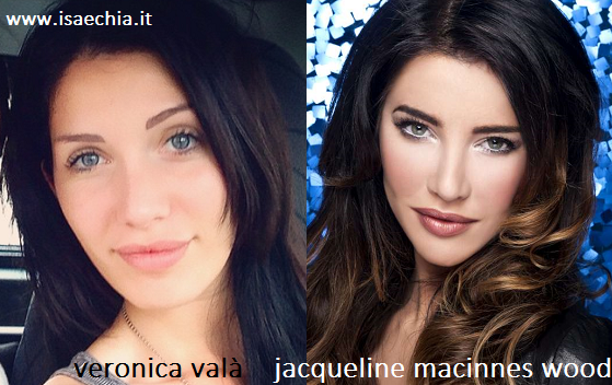 Somiglianza tra Veronica Valà e Steffy Forrester di 'Beautiful'