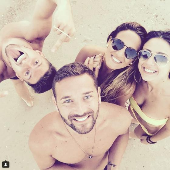 Alessandra De Angelis, Emanuele D'Avanzo, Dario Loda e Claudia Merli