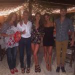 Belen, Cecilia, Gustavo e Jeremias Rodriguez, Veronica Carozzano
