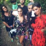 Belen, Cecilia, Gustavo e Jeremias Rodriguez, Veronica Carozzano e Santiago De Martino