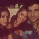 Belen, Cecilia e Jeremias Rodriguez