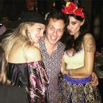 Belen Rodriguez, Gabriele Parpiglia e Claudia Galanti