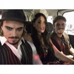 Cecilia Rodriguez, Francesco e Stefano Monte
