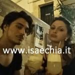 Esmeralda Parià e Nicola Pizzicoli