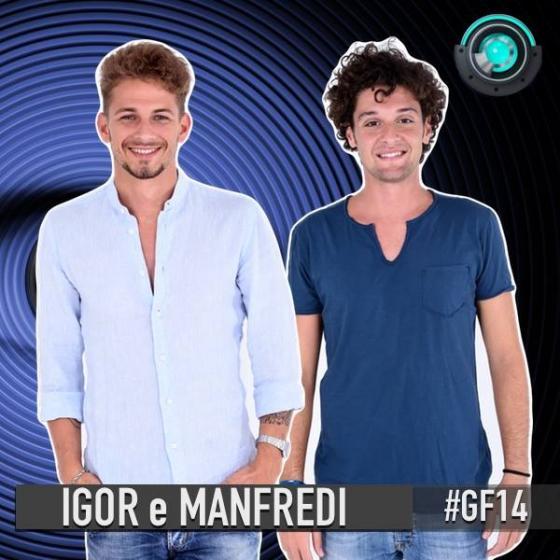 Igor Di Giovanni e Domenico Manfredi