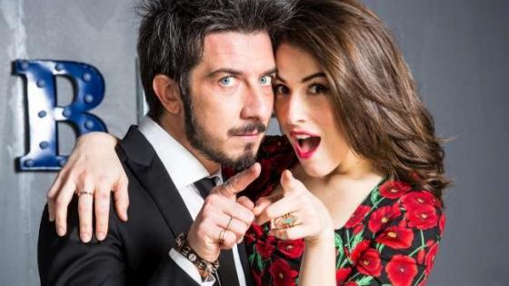 Paolo Ruffini e Diana Del Bufalo