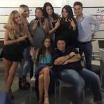 Sharon Bergonzi, Alessia Messina, Rama Lila Giustini, Pamela ed Eliana Michelazzo