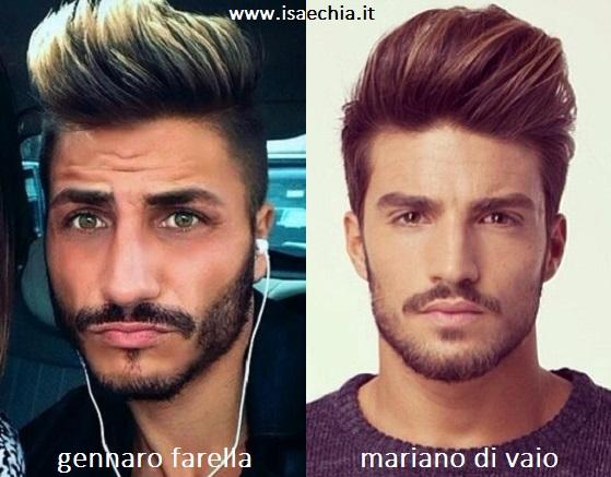 Somiglianza tra Gennaro Farella e Mariano Di Vaio