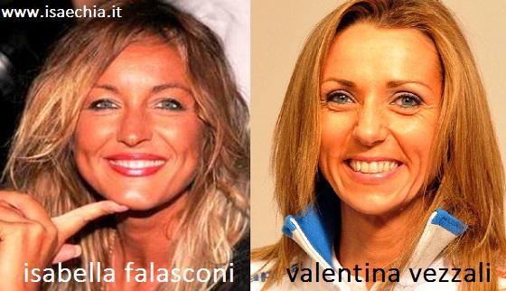 Somiglianza tra Isabella Falasconi e Valentina Vezzali