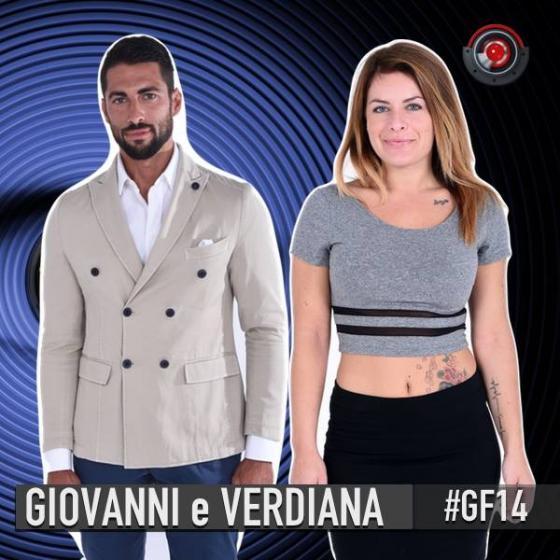 Verdiana Fanzone e Giovanni Angiolini