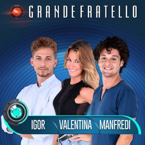 Igor Di Giovanni, Domenico Manfredi e Valentina Bonariva