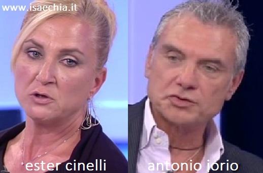 Somiglianza tra Ester Cinelli e Antonio Jorio