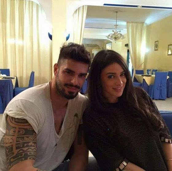 Cristian Gallella e Alessia Messina