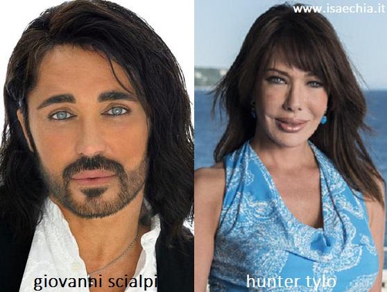Somiglianza tra Giovanni Scialpi e Taylor di 'Beautiful'