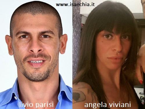 Somiglianza tra Livio Parisi e Angela Viviani