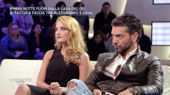Alessandro Calabrese e Lidia Vella