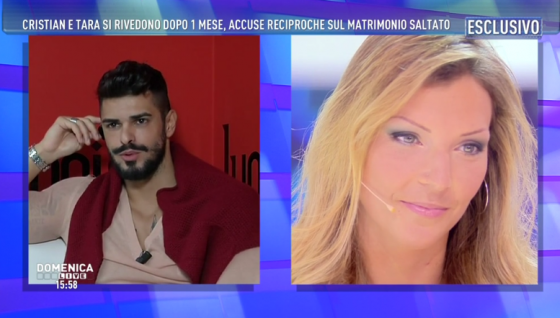 Cristian Gallella e Tara Gabrieletto - Domenica Live