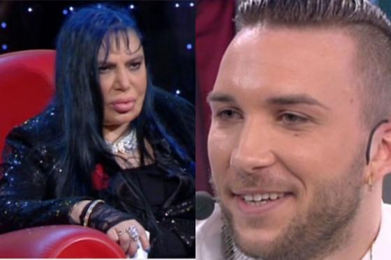 Mattia Briga e Loredana Bertè