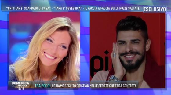 Tara Gabrieletto e Cristian Gallella - Domenica Live