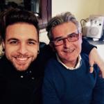 Alessio Bernabei e Pino Perris