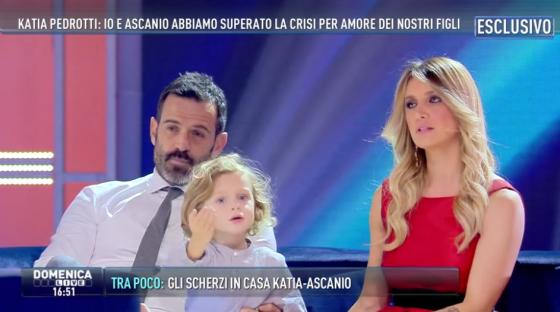 Katia Pedrotti, Ascanio e Tancredi Pacelli