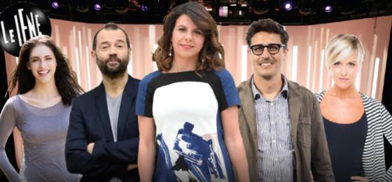 Le Iene - Fabio Volo, Miriam Leone, Geppi Cucciari, Pif, Nadia Toffa