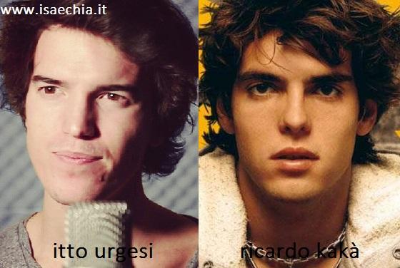 Somiglianza tra Itto Urgesi e Ricardo Kakà