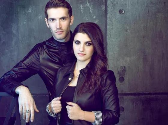 Deborah Iurato e Giovanni Caccamo