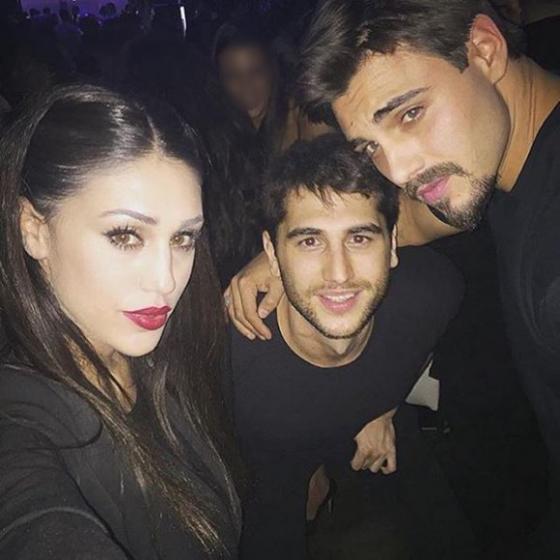Francesco Monte, Cecilia e Jeremias Rodriguez