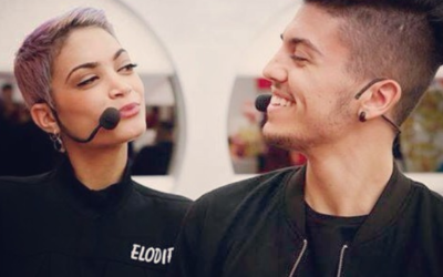 Lele Esposito e Elodie Di Patrizi
