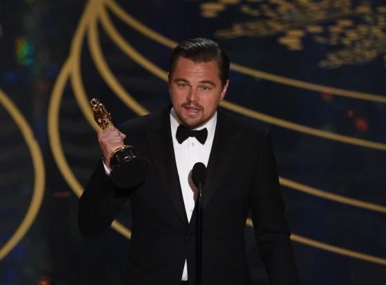 Leonardo DiCaprio ha vinto l'Oscar