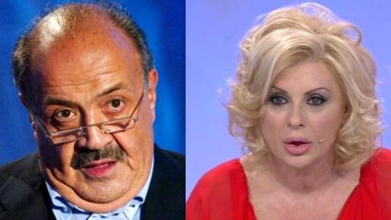 Maurizio Costanzo e Tina Cipollari