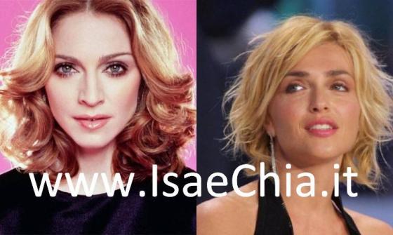 Paola Barale e Madonna