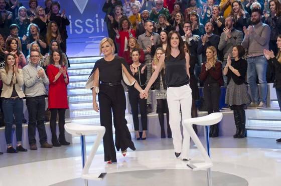 Simona Ventura e Silvia Toffanin