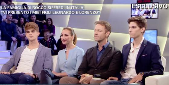 Domenica Live - Barbara D'Urso, Rocco Siffredi