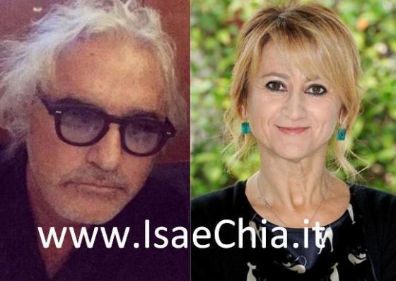 Flavio Briatore e Luciana Littizzetto